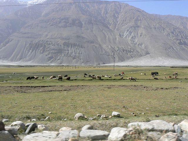 Corridor de Wakhan en Afghanistan
