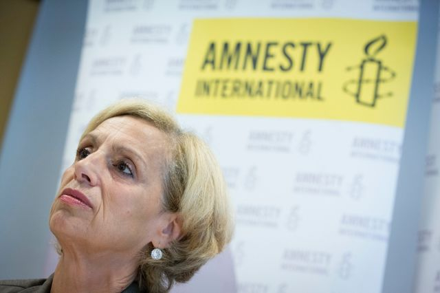 Genevieve Garrigos, presidente d'Amnesty International France