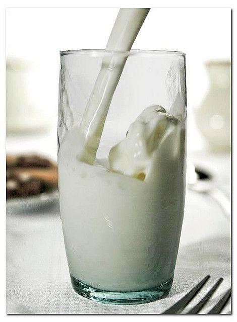 Un verre de lait