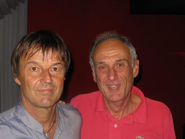 Denis Cheissoux et Nicolas Hulot