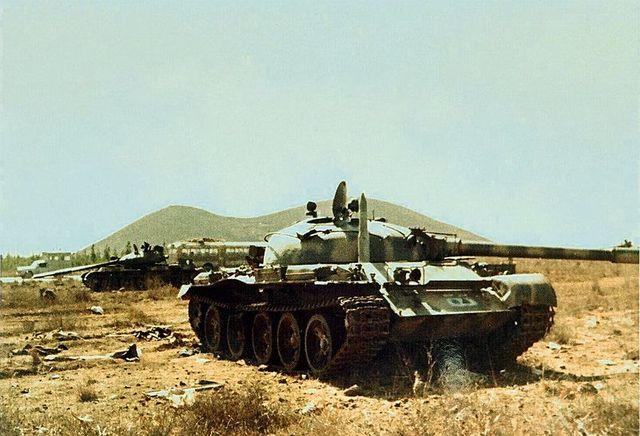 Char syrien en octobre 1973