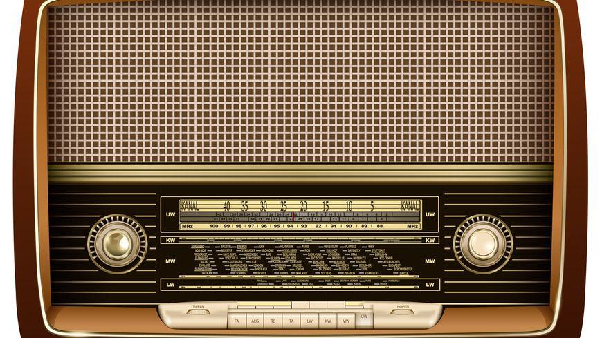 Transistor d'époque. (illustration)