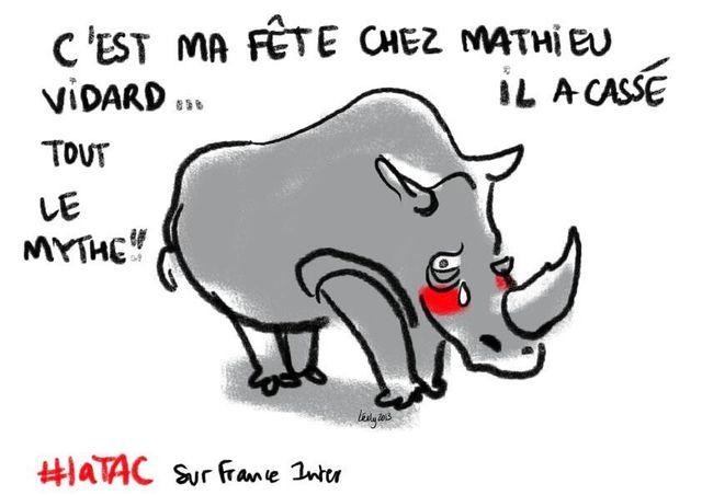 Le rhinocéros de la TAC