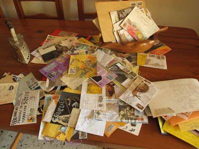Quelques courriers reçus par Michèle Reverbel