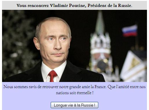 Comme Gérard Depardieu, j'ai beaucoup compté sur le soutien de la Russie