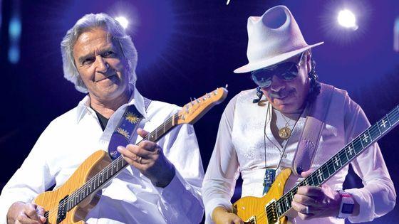 Photo - Santana et Mc Laughlin