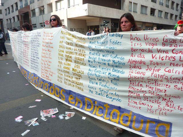 La liste des femmes assassinées sous la dictature
