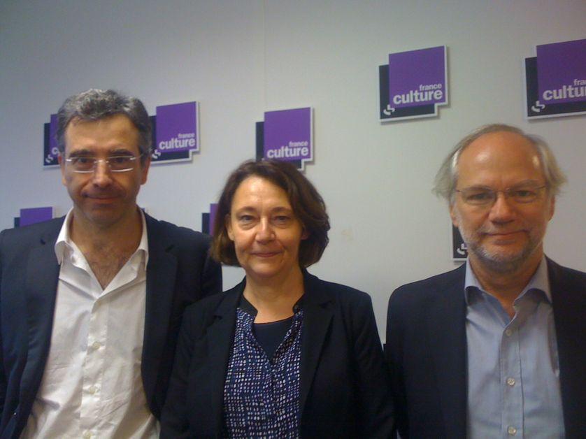 Dominique Reynié, Françoise Fressoz et Laurent Joffrin