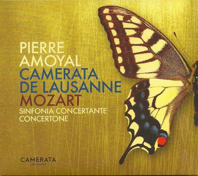 Mozart par Pierre Amoyal & la Camerata de Lausanne