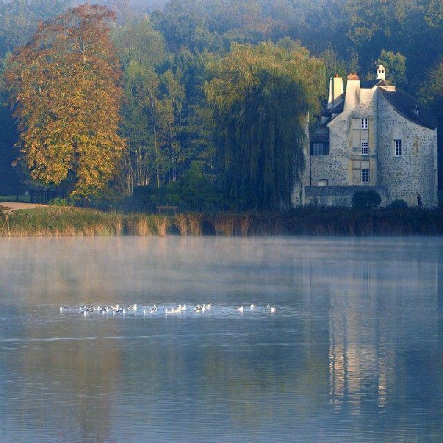 Le Val-d'Oise, château de la Chasse