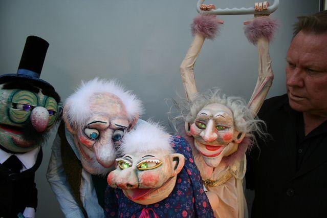 Mathilde Stuffed Puppet Theater