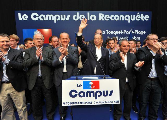 Jean-François Copé en meeting au Touquet
