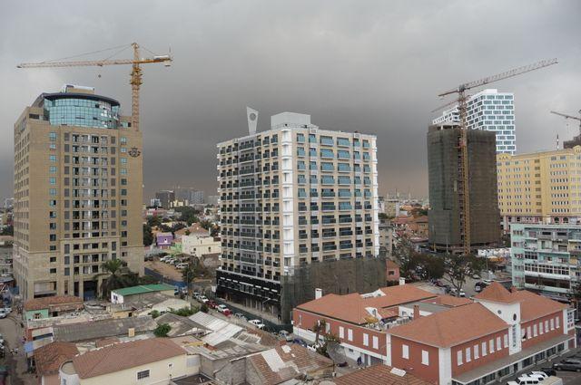 Centre-ville de Luanda, quartier Ingombota (Angola)