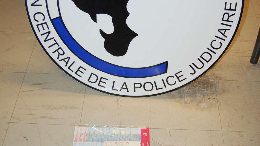 La drogue saisie par la police judiciaire de Valence.