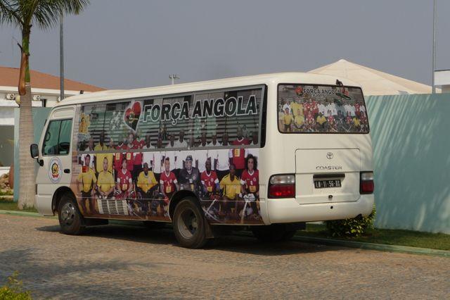 Bus de l'équipe d'Angola