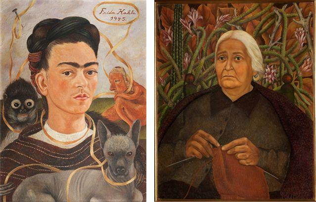 Autorretrato con Changuito, Retrato de Doña Morillo