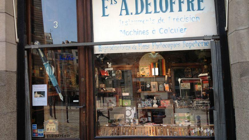 Les établissements Deloffre à Lille
