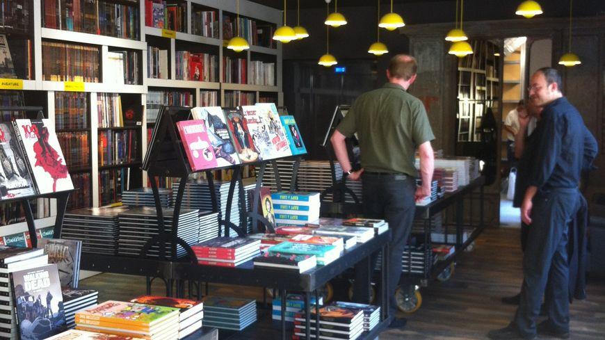 La nouvelle librairie Bulle
