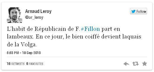 tweet v Fillon