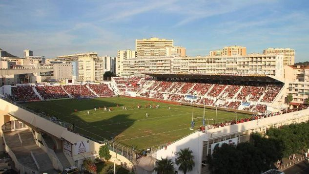 Le stade Mayol, à Toulon