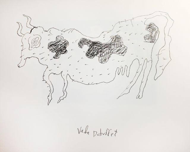 La Vache de Dubuffet, revue par Joann Sfar