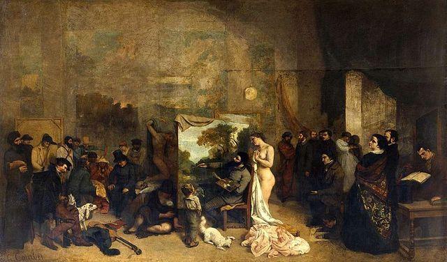 L'atelier du peintre G Courbet
