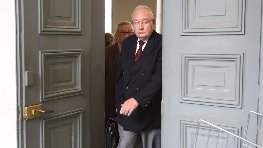Jean Louis Mutte, l'ancien directeur de Sup de Co Amiens au tribunal correctionnel lors de l'audience du 31 mai 2012