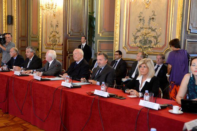 Les élus marseillais réunis pour parler sécurité