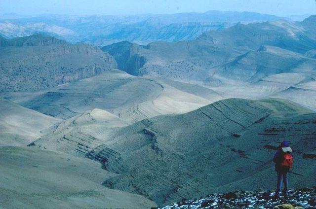 Paysage du haut Atlas du Maroc