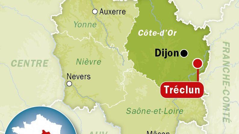 Tréclun, en Côte d'Or