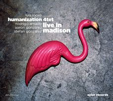 Visuel CD - Live in Madison - Luis Lopes, humanization 4te