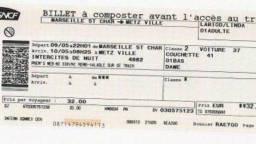 Image Billet De Train prendre le train avec -25% de réduction minimum