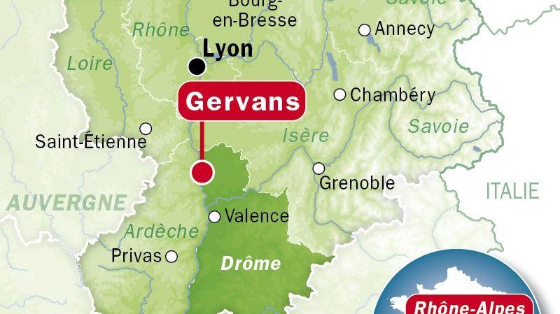 Gervans dans le Nord Drôme