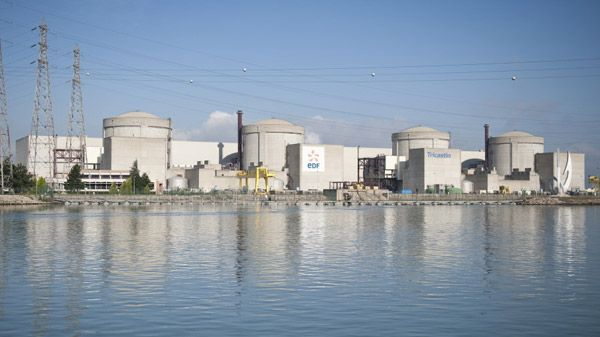La centrale nucléaire du Tricastin, dans la Drôme
