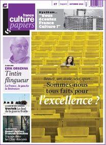 France Culture Papiers Numéro 7