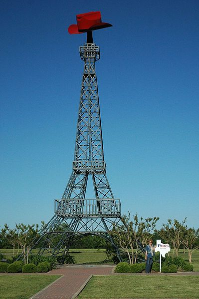 Replica of the Eiffel Tower in Paris, Texas