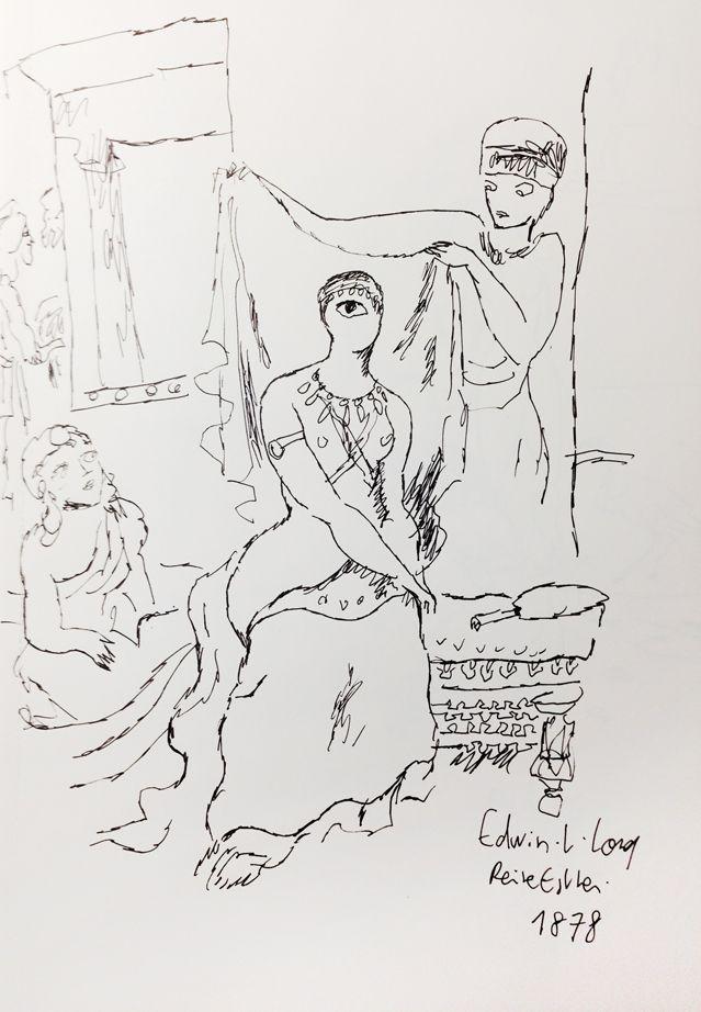 """La reine Esther"" d' Edwin L. Long, revu par Joann Sfar"