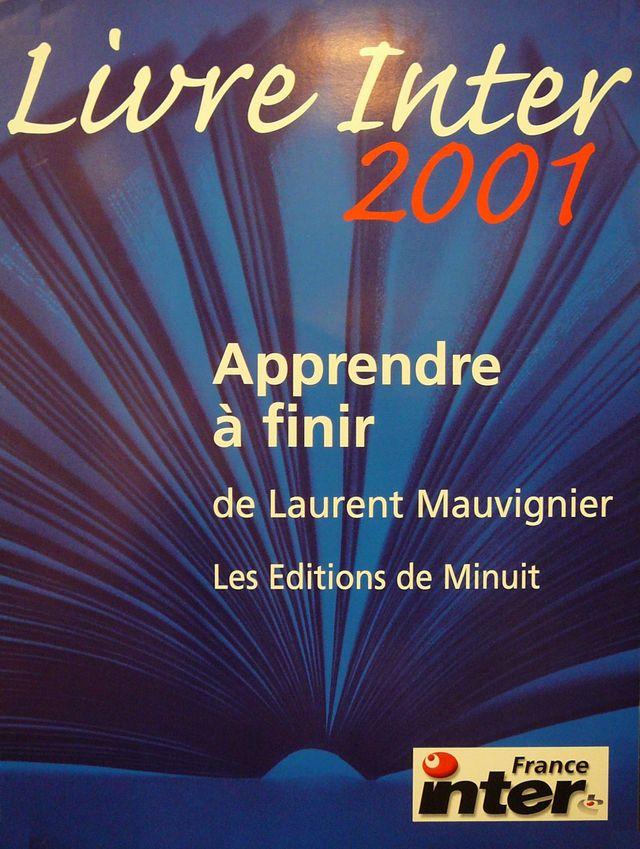 Prix du livre Inter 2001