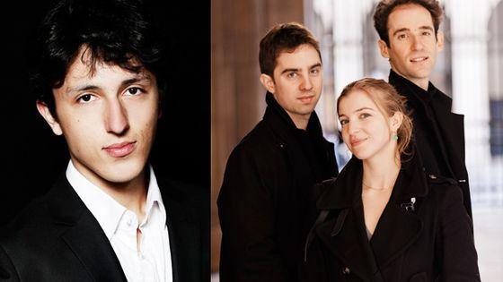 Concerts Jeunes Interprètes avec Ismaël Margain et le Trio Atanassov