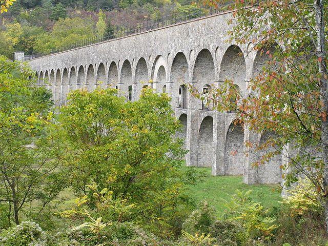 Pont sur Yonne - l'Aqueduc de la Vanne