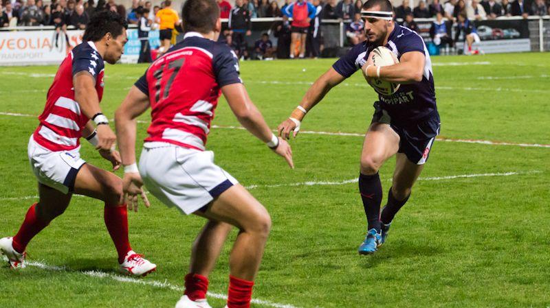 Vincent Duport, international rugby à XIII et joueur des Dragons Catalans