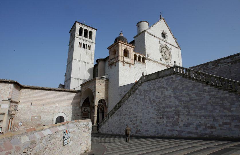 Basiliique De Saint François d'Assise à Assise en Italie