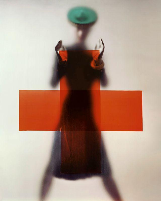 Variante de la photographie de couverture de Vogue US, « Do your part for the Red Cross (Soutenez la Croix-Rouge),
