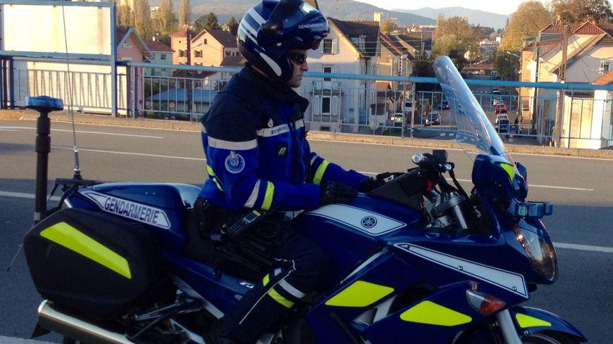 Gendarmerie Belfort moto