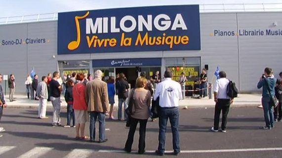 Les magasins d'instruments de musique Milonga mis en liquidation judiciaire