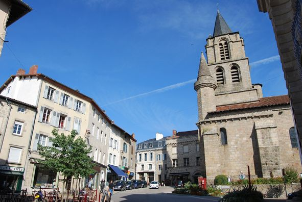 Saint-Junien (Haute-Vienne) - Centre ville