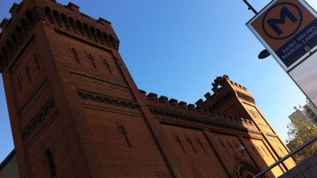 Prison Saint Michel la façade