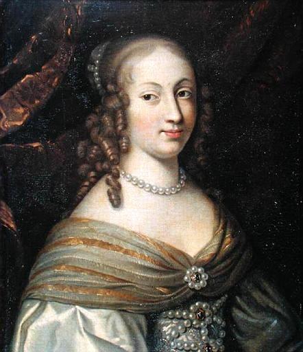 Portrait d'Anne-Geneviève de Bourbon-Condé - XVIIème siècle