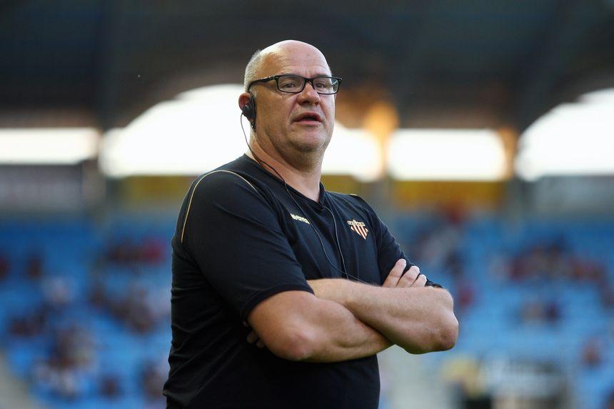 Marc Delpoux, entraîneur de l'USAP