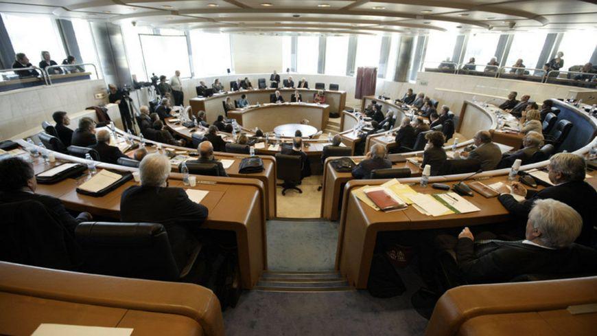 L'hémicycle du Conseil Général de Gironde